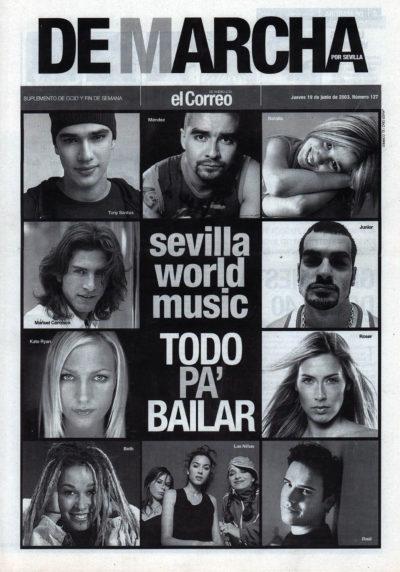 Sevilla World Music – Todo pa' bailar | De Marcha – El Correo | 19 jun 2003