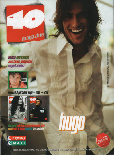 Hugo Salazar | 40 Magazine | jul 2003