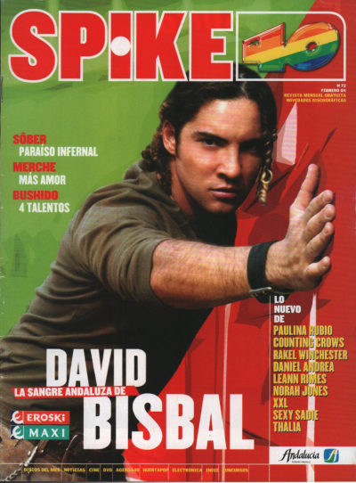 David Bisbal | Spike 40 | feb 2004