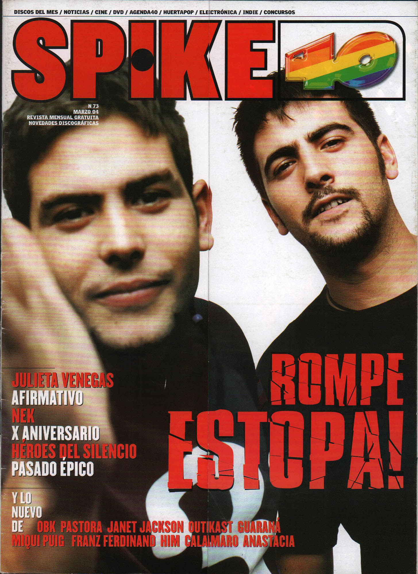 Estopa | Spike 40 | mar 2004