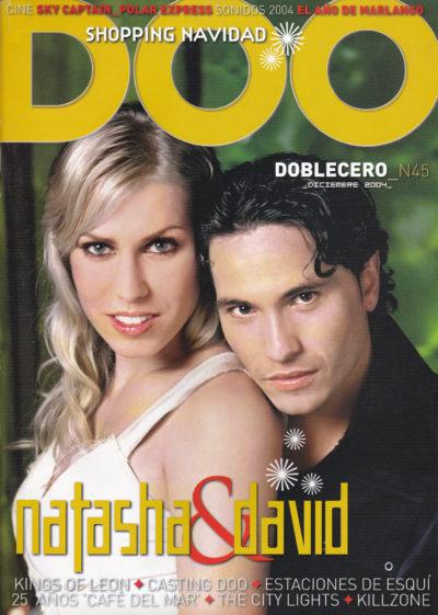 Natasha & David DeMaría | Doblecero – El Corte Inglés | dic 2004