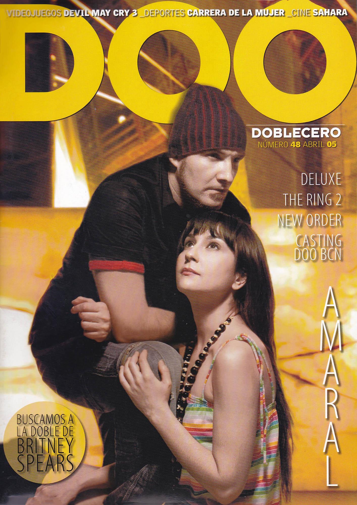 Amaral | Doblecero - El Corte Inglés | abr 2005