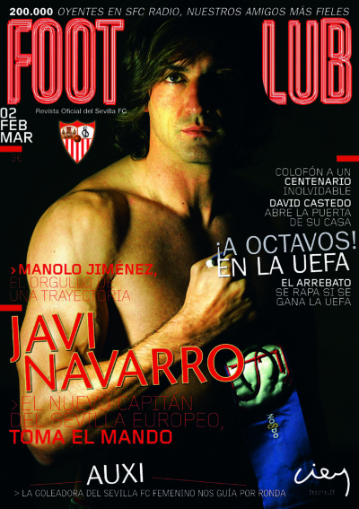 Javi Navarro toma el mando | Football Club | feb 2006