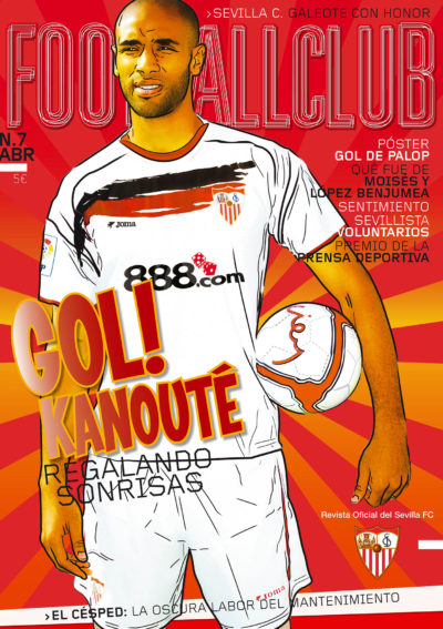 Frederick Kanouté, regalando sonrisas | Football Club | abr 2007