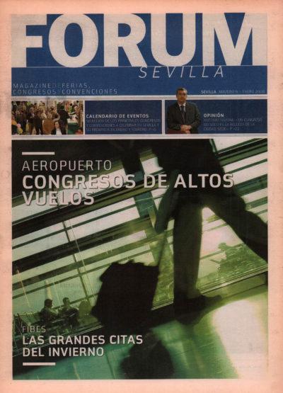 Aeropuerto: congresos de altos vuelos | Fórum – ABC de Sevilla | ene 2008