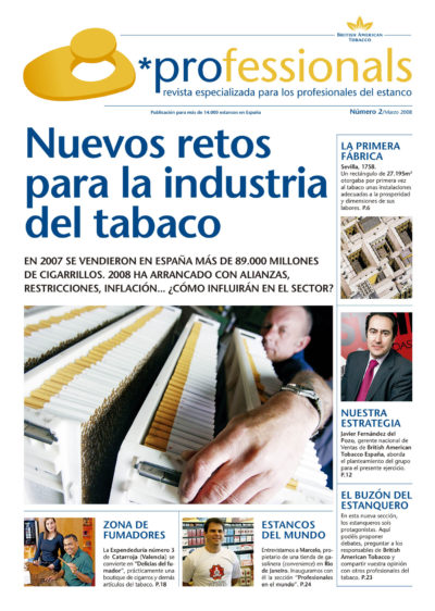 Nuevos retos para la industria del tabaco | Professionals | mar 2008