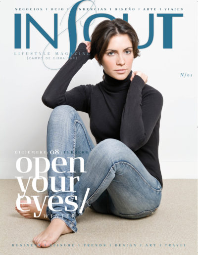 Open your eyes | In & Out – Lifestyle Magazine Campo de Gibraltar | dic 2008