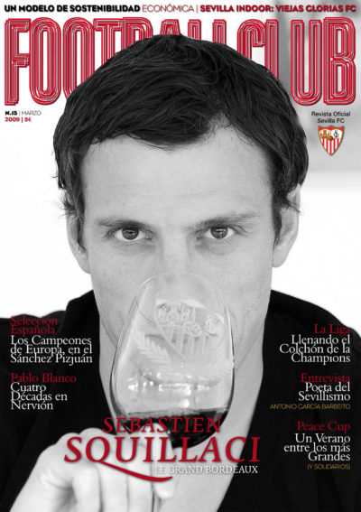 Sebastien Squillaci: le grand bordeaux | Football Club | mar 2009