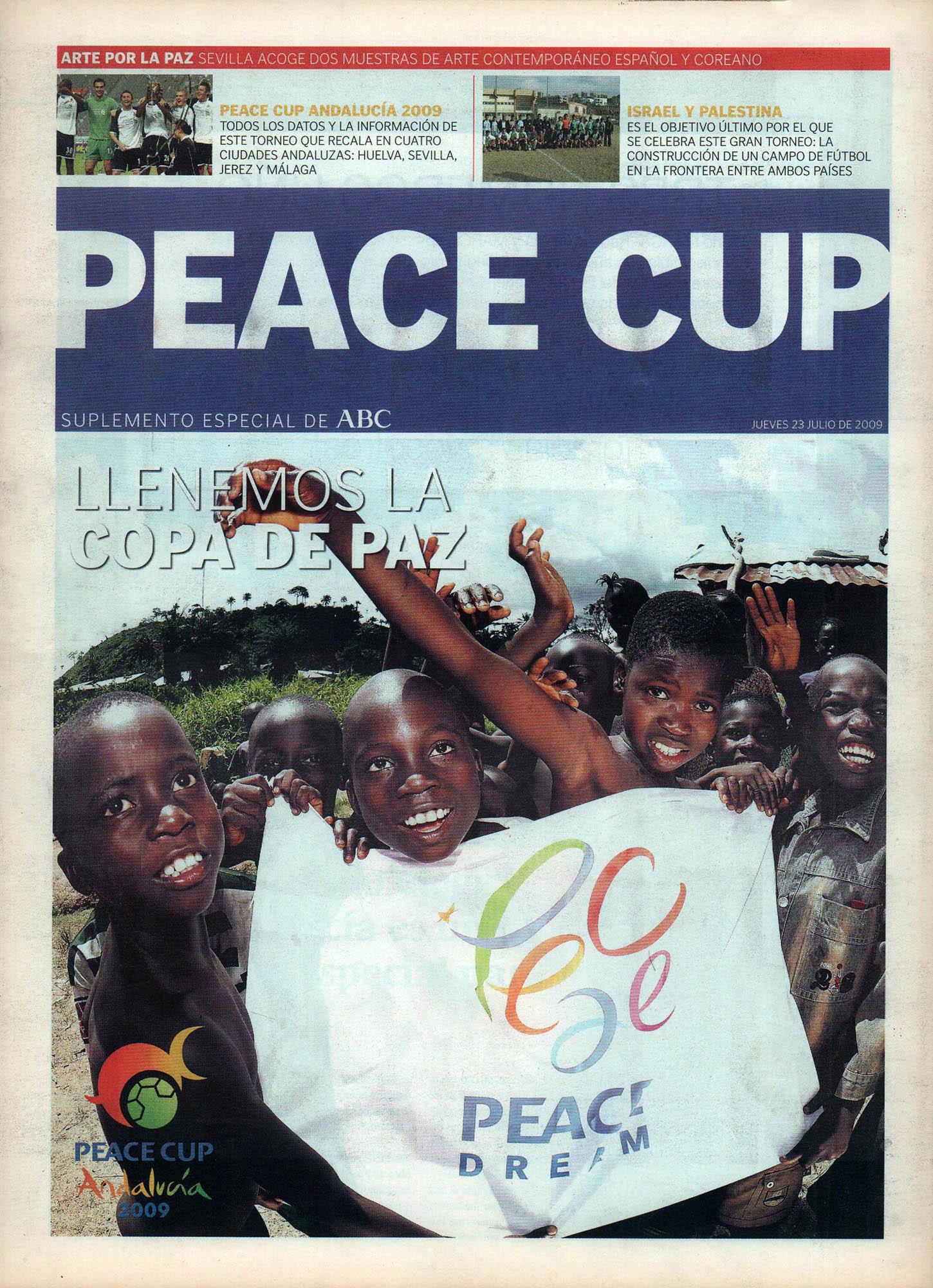 Peace Cup | Suplemento especial – ABC de Sevilla | 23 jul 2009