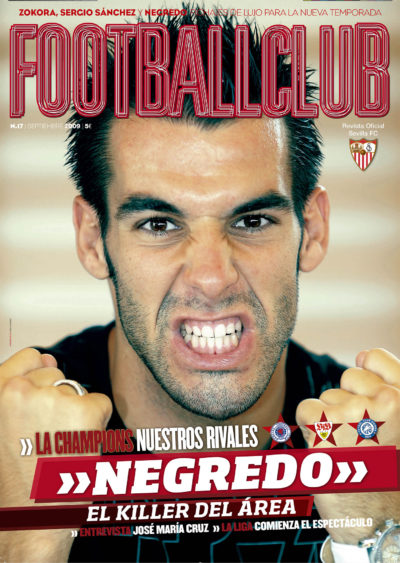 Álvaro Negredo, el killer del área | Football Club | sep 2009