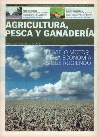Agricultura, pesca y ganadería | Suplemento especial – ABC de Sevilla | 26 oct 2009