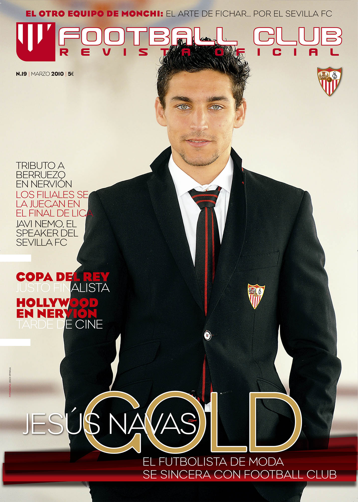 Jesus Navas: Gold | Football Club | mar 2010