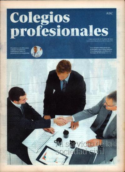 Colegios profesionales | Suplemento especial – ABC de Sevilla | 22 oct 2010