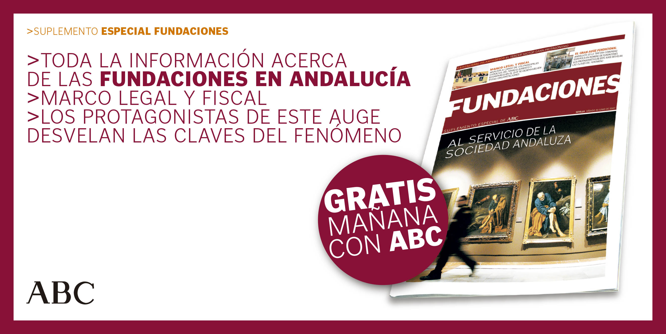 Especial Fundaciones – ABC | jun 2007