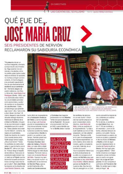 Qué fue de… José María Cruz | Football Club | feb 2008