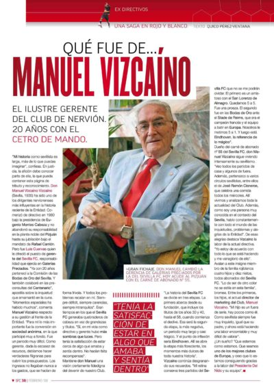 Qué fue de… Manuel Vizcaíno | Football Club | feb 2008