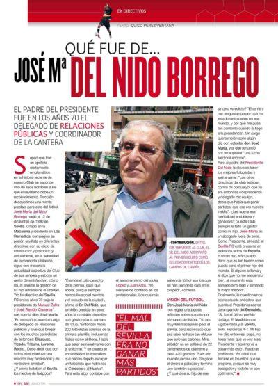 Qué fue de… José María Del Nido Borrego | Football Club | jun 2009