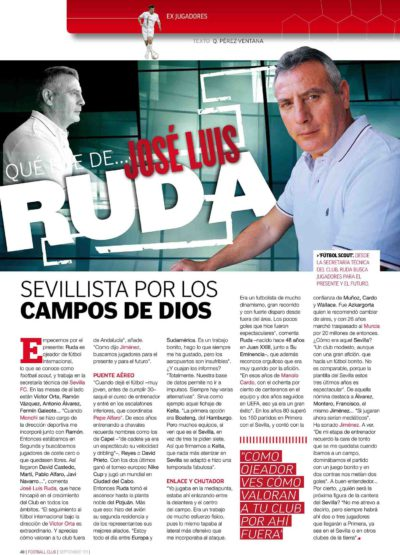 Qué fue de… José Luis Ruda | Football Club | sep 2009