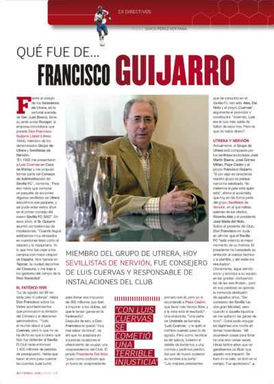 Qué fue de… Francisco Guijarro | Football Club | mar 2010