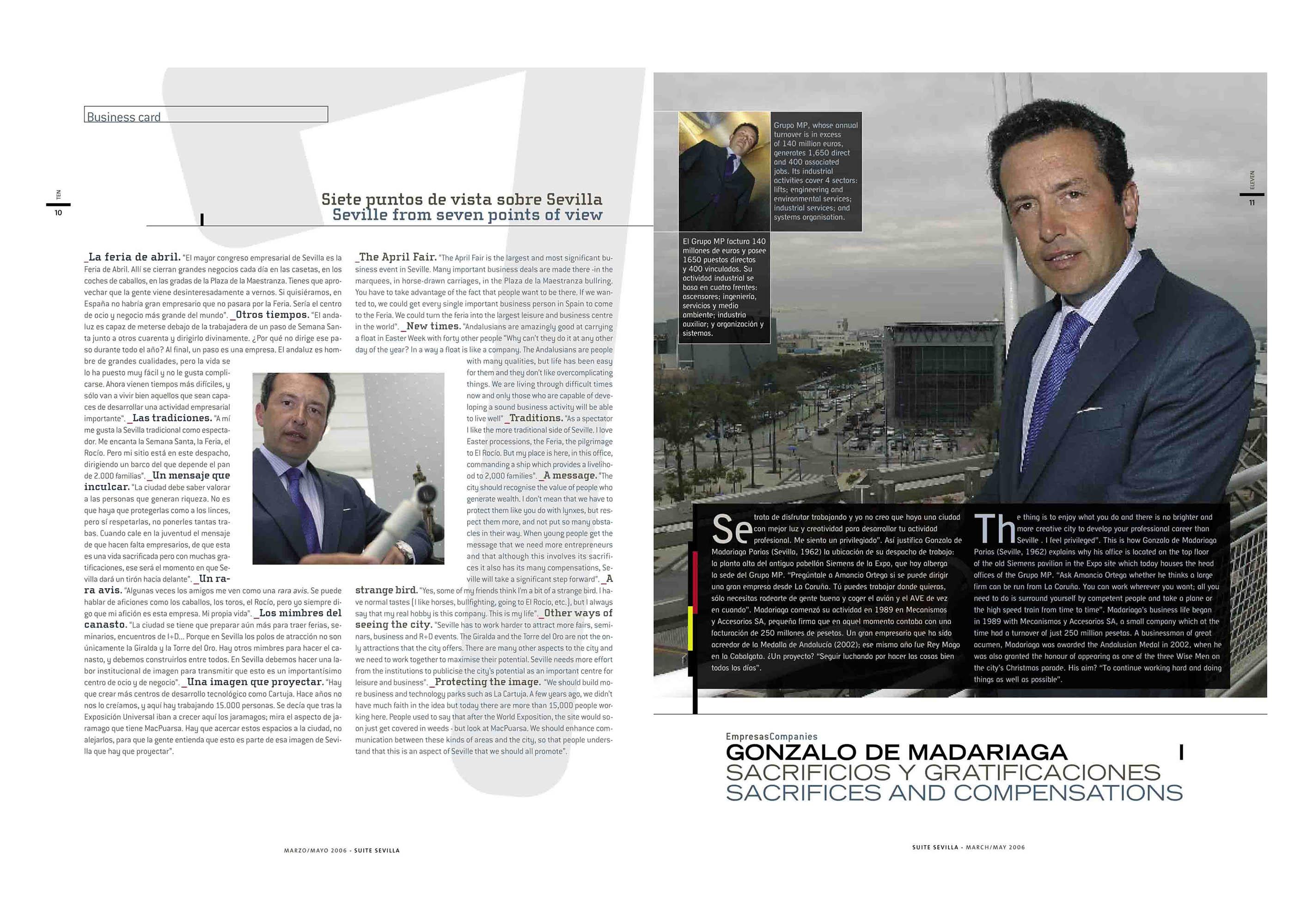 Gonzalo de Madariaga: siete puntos de vista sobre Sevilla | Suite Sevilla | mar 2006