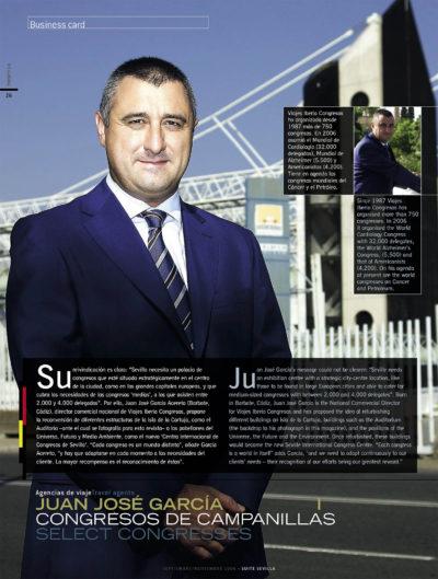 Juan José García Acereto – Viajes Iberia Congresos | Suite Sevilla | sep 2006
