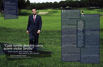 Francisco Obregón Rojano, delegado de Turismo: «Cada turista decidirá cómo quiere visitar Sevilla» | Suite Sevilla | dic 2006