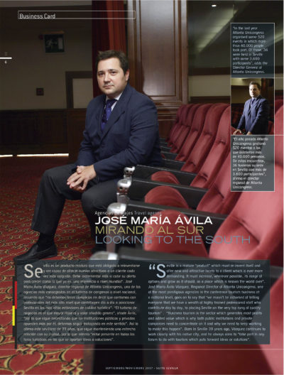 José María Ávila – Atlanta Unicongress | Suite Sevilla | sep 2007