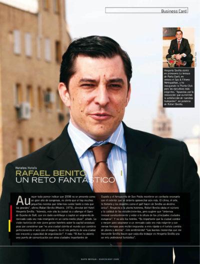 Rafael Benito – Hotel Hesperia | Suite Sevilla | mar 2008