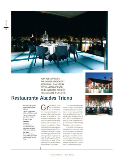 Restaurante Abades Triana | Suite Sevilla | jun 2008