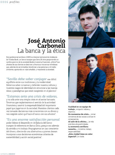 José Antonio Carbonell – Triodos Bank | Suite Sevilla | mar 2009