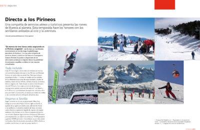 Directo a los Pirineos (nieves de Huesca) | Suite Sevilla | mar 2009