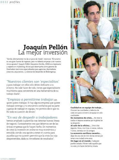 Joaquín Pellón – Diseñadero, Bellowgroup | Suite Sevilla | jun 2009