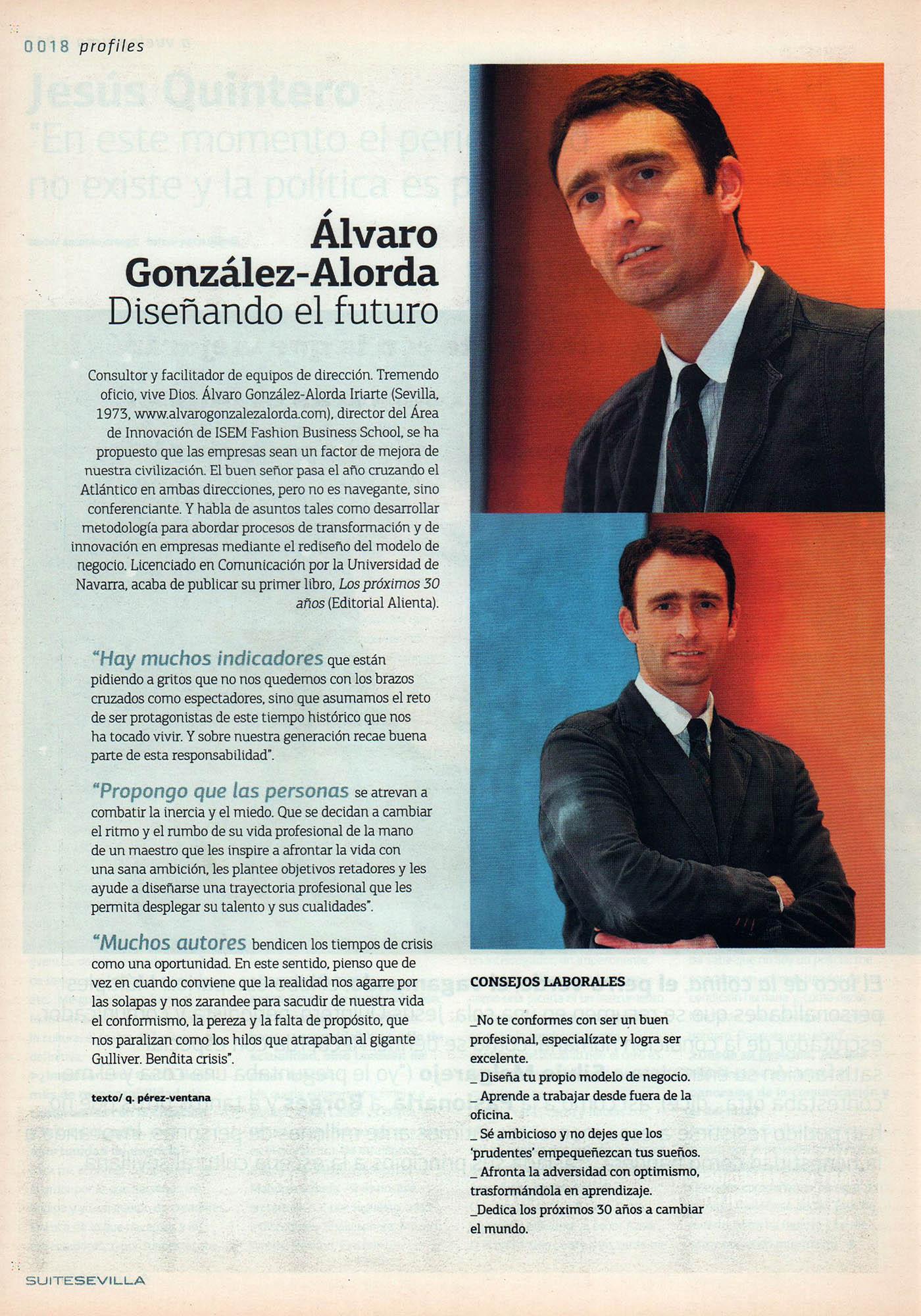 Álvaro González-Alorda, diseñando el futuro | Suite Sevilla | abr 2010