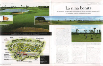 Villanueva Golf Resort – La niña bonita | Villanueva Golf Magazine | may 2009